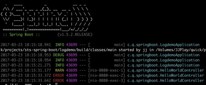 spring-boot-console-log-with-color